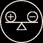 Debet och Kredit-ikon