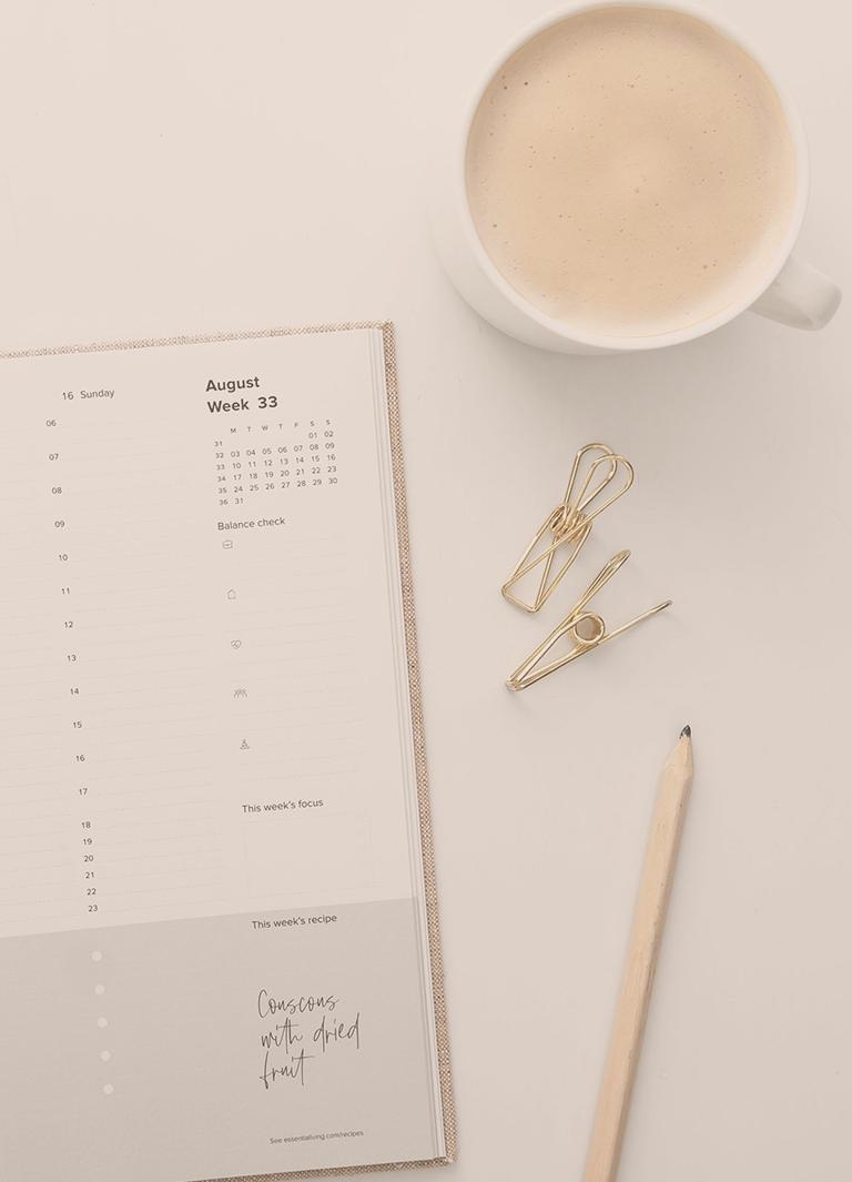 Kalender för planering av företags ekonomi och tid