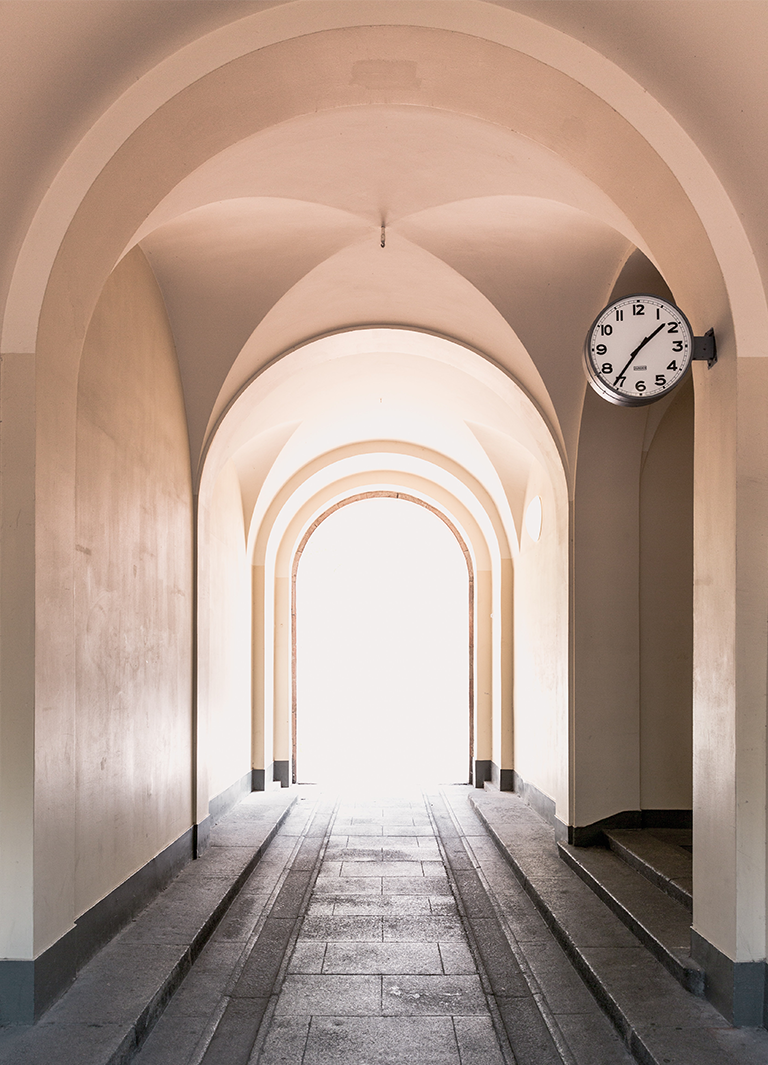 Klocka i valv - din tid är värdefull